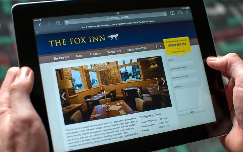 The Fox Inn - Tablet