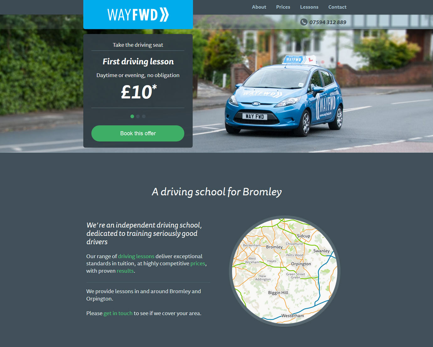 Wayfwd Driving School - Desktop